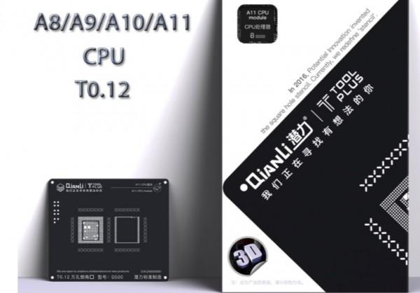 Sentcil Qianli 3D cpu A8 -A9-A10-A11-A12