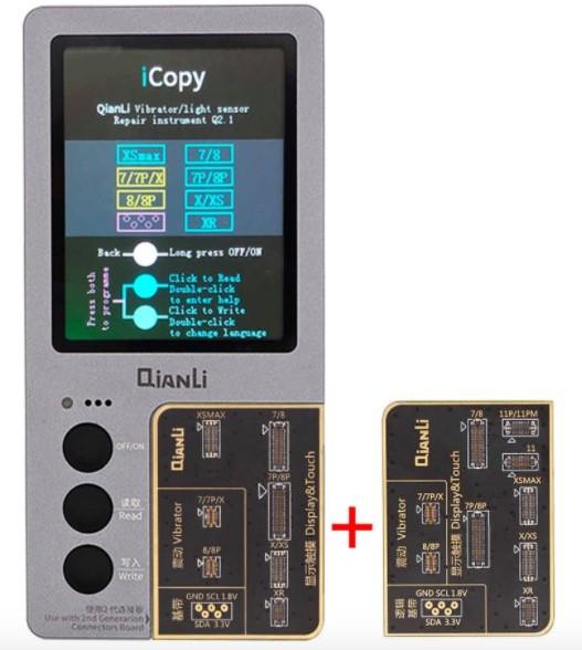 Qianli - iCopy Plus inkl. Akku Board