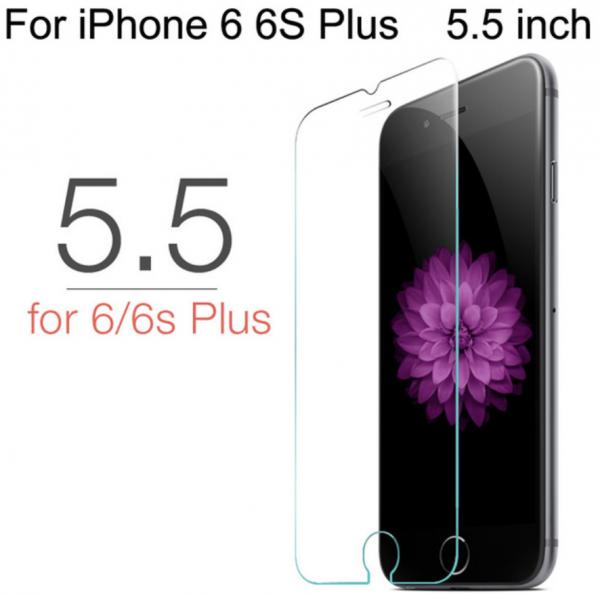 Panzerglas Folie Protection Glas für iPhone 6 PLUS / 6S PLUS