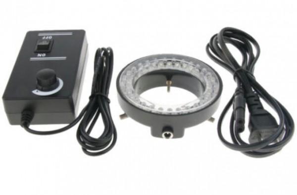 Mikroskop Ringlicht Illuminator Lighting Kit 60 LED Lampe