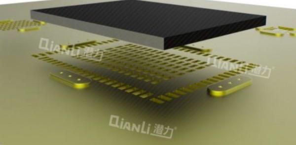 Qianli 3D Stencil Gold