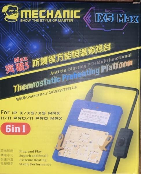 MECHANIC IX5 MAX 6 IN 1 PREHEATING PLATFORM FOR IPHONE X/XS/XSMAX/11/11PRO/11PRO MAX