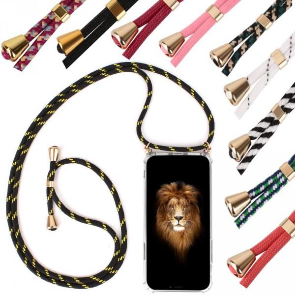 iPhone 6 / 6s Hülle / Case Transparent mit Umhängeschlaufe