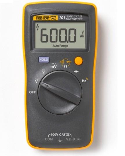 Multimeter AC/DC Easily Carried mini DMM meter