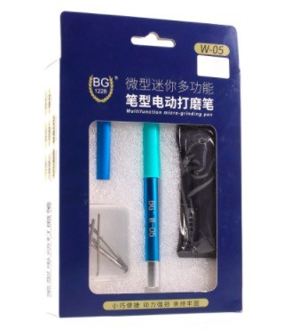 BG W-05 pen type electric grinding pen IC chip CPU grinding main board cutting surface rust removal