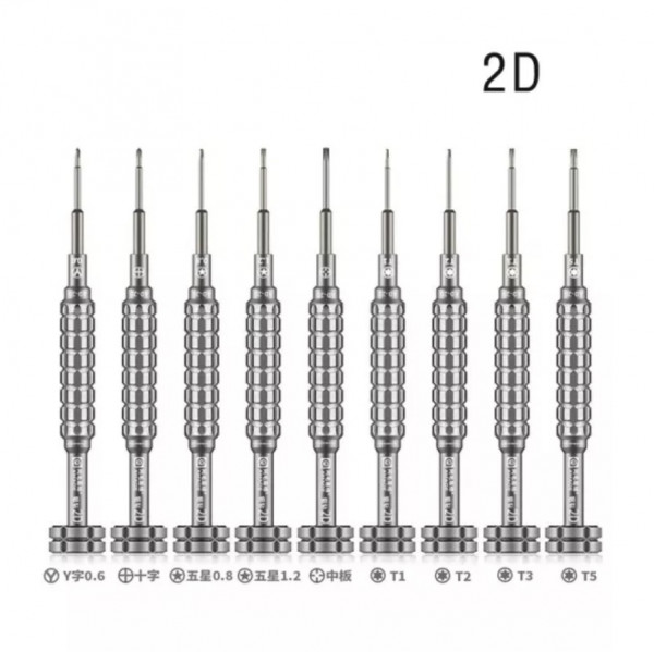 Amaoe Alloy Bit 2D 3D S2 Screwdriver Set For Android iPhone Mobile Phone Repair Disassembly Screwdri