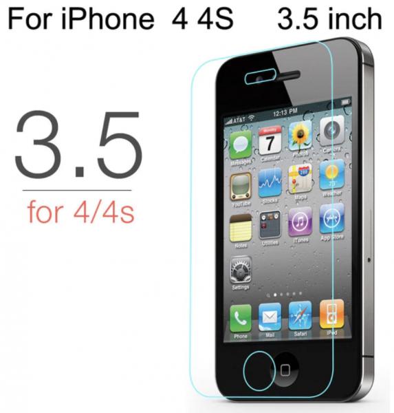 Panzerglas Folie Protection Glas für iPhone 4 / 4S