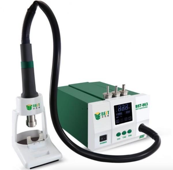 BST 863 blei-freies Hot Air Rework station 1200 watt Intelligente digitale display