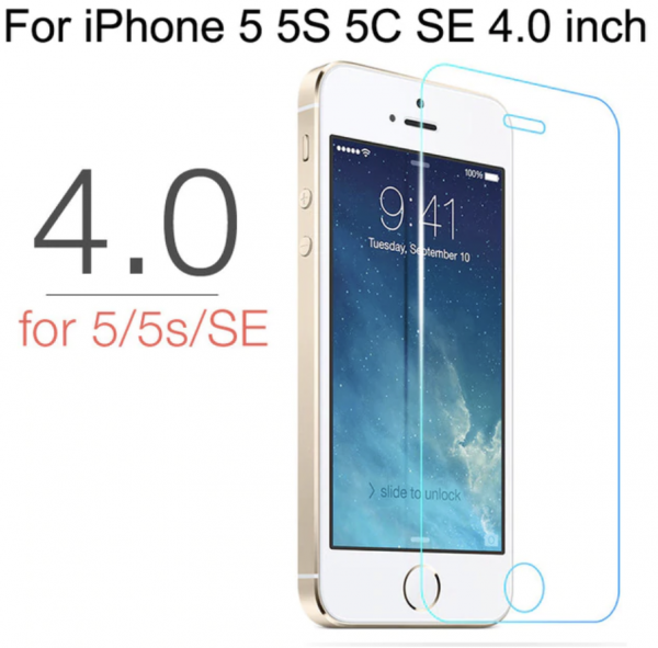 Panzerglas Folie Protection Glas für iPhone 5 / 5S / SE